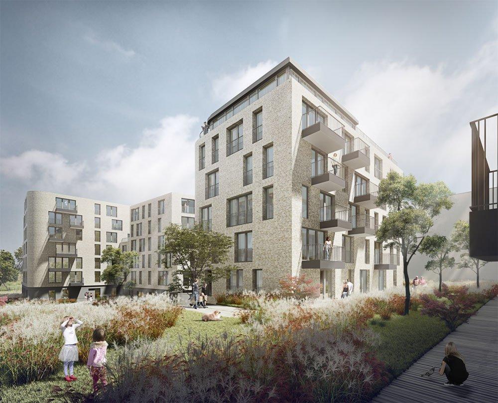das gotland gr nes city wohnen berlin prenzlauer berg prenzlauer gotlandhof gmbh neubau. Black Bedroom Furniture Sets. Home Design Ideas