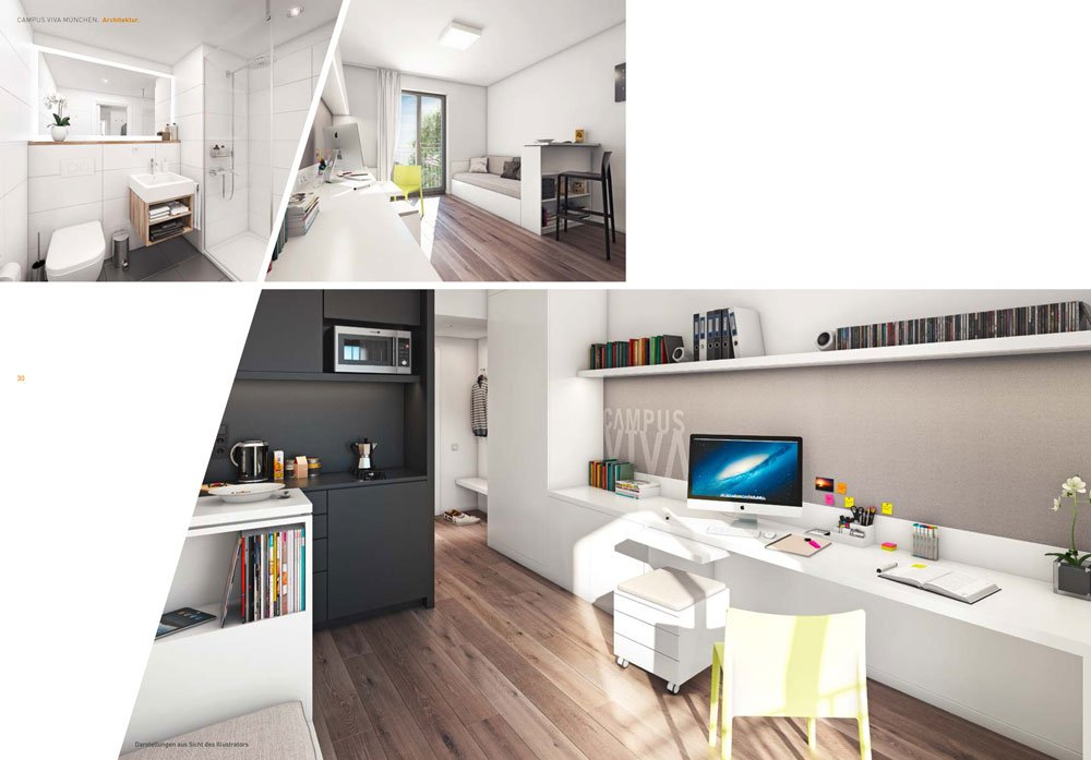 campus viva m nchen ii m nchen milbertshofen campus viva neubau immobilien informationen. Black Bedroom Furniture Sets. Home Design Ideas