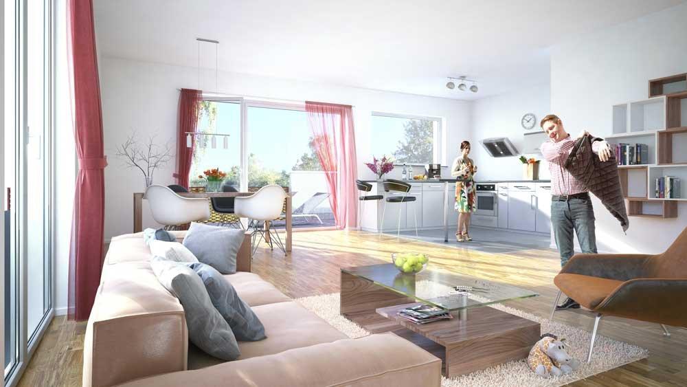 livius living berlin mariendorf first home wohnbau neubau immobilien informationen. Black Bedroom Furniture Sets. Home Design Ideas