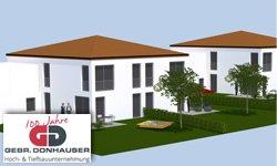 Neubau in Wenzenbach: Doppelhäuser am Roither Berg