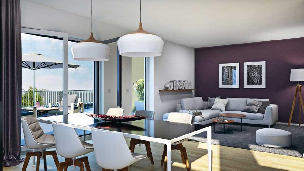 leonhard wohnen am park karben gro karben die wohnkompanie rhein main gmbh neubau. Black Bedroom Furniture Sets. Home Design Ideas