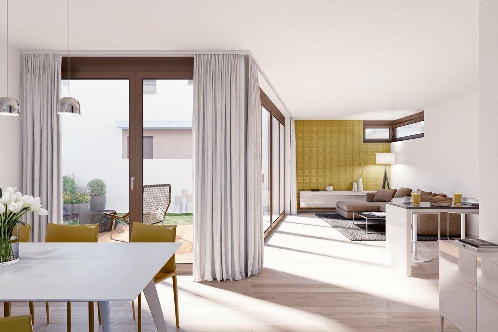 Atriumhaus München prinz oberföhring münchen oberföhring klaus wohnbau neubau