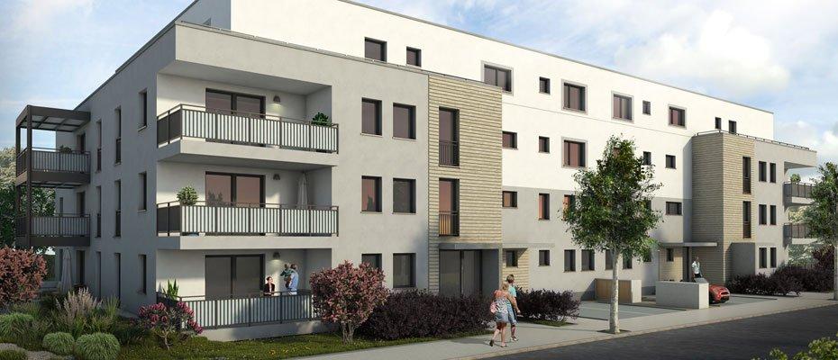 Neubauprojekt: An der Wachenheimer Straße in Mannheim - Neubau von 26 Eigentumswohnungen