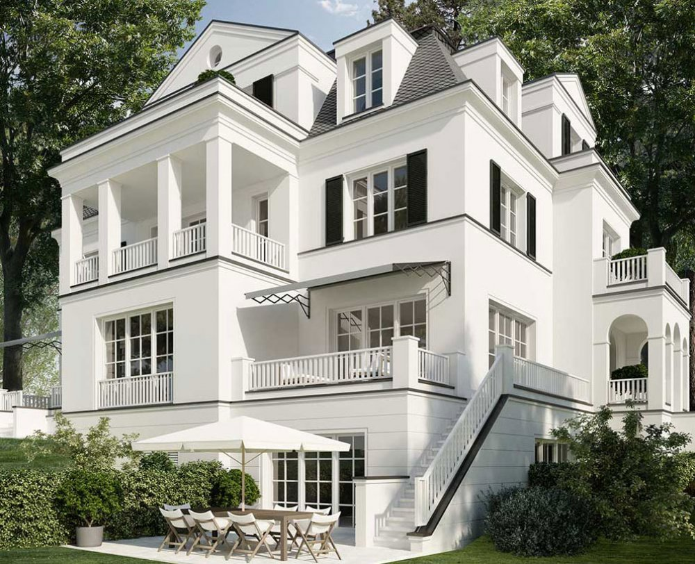 Klassische Villa Neubau dahlem duo in berlin-dahlem - berlin-dahlem - ralf schmitz