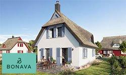 An der Ostsee: Ferienhäuser bei Stralsund