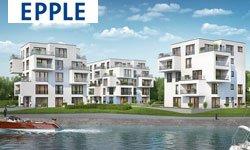 Wohnen am Wasser - Start 2. Bauabschnitt: Rheinkilometer 423
