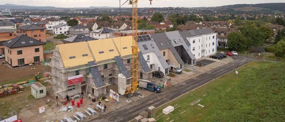 Bild zu Leben am Osterholz-Park - Neubau von 16 Reihenhäusern