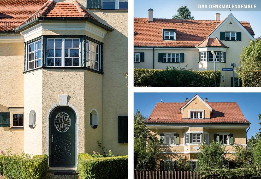 HOFGUT ALT SOLLN München Solln Domino Haus Neubau