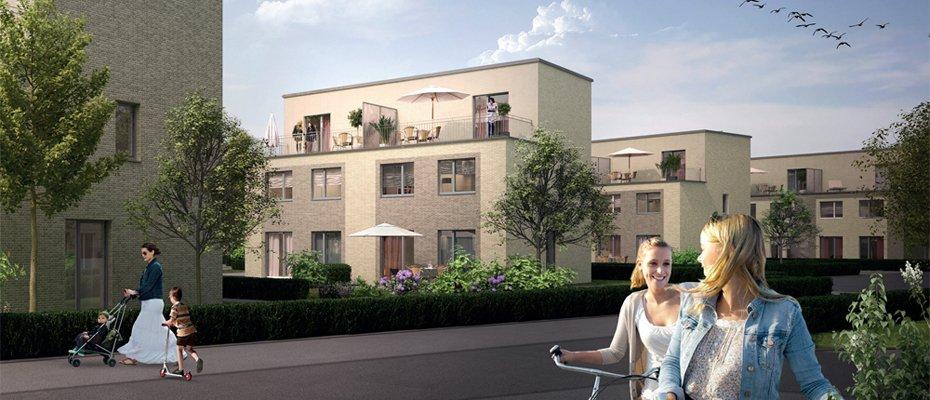 Zeitlos moderne Architektur: OS29 Billstedt - Neubau von 65 Reihen- und Doppelhäusern