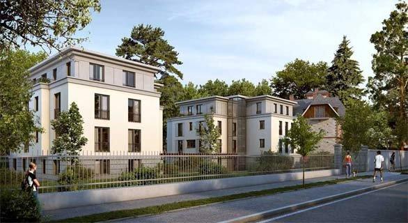 Villen am Kurpark Wilhelmsbad