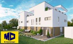 Bauobjekt Langweid Village - Häuser