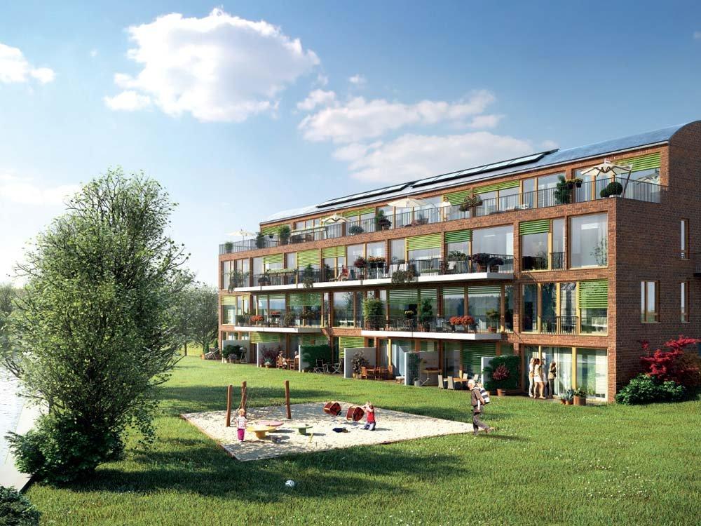 Bilder Neubau Eigentumswohnungen Flakenstraße Erkner