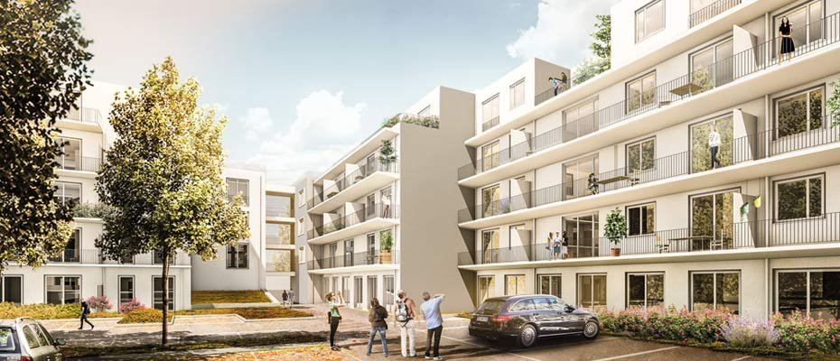 Bild zu Hannover-Buchholz - Podbi Places - Neubau von 45 Eigentumswohnungen