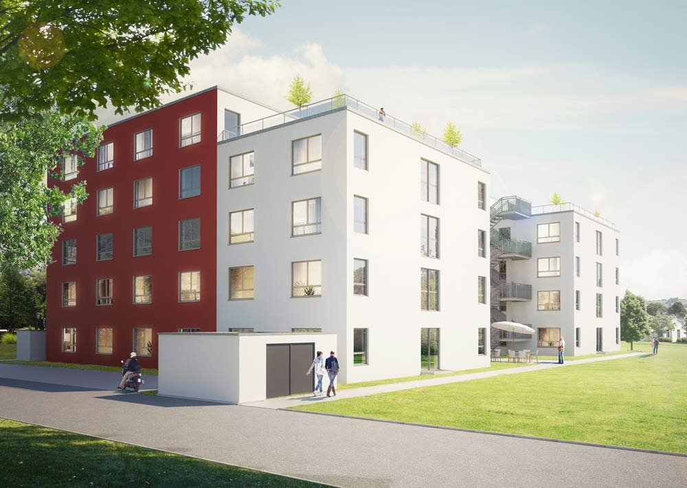 Seniorenwohn  Und Pflegezentrum Leimen. Neubau Von 96 Eigentumswohnungen