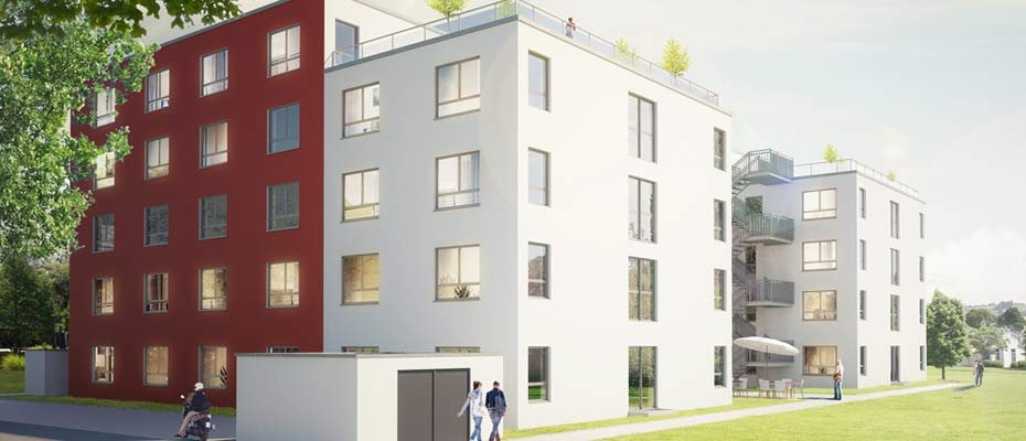 Bild zu Seniorenwohn- und Pflegezentrum Leimen - Neubau von 96 Eigentumswohnungen