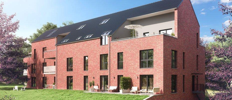 Anspruchsvolle Bauweise: Lebensart Großhansdorf - Neubau von 11 Eigentumswohnungen