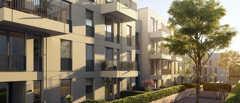 Wohnen am Alpenerplatz - Neubau von 45 Eigentumswohnungen