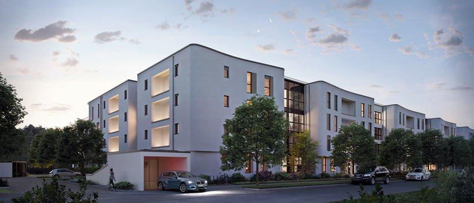 Bild zu  - Neubau von 105 Eigentumswohnungen und 8 Reihenhäusern