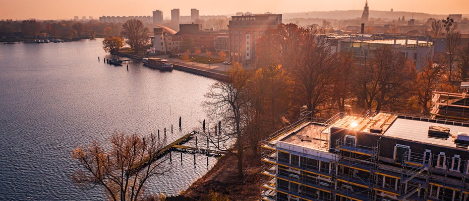 Orangerie am Tiefer See: Luxusdomizile mit direktem Seezugang - Neubau von 3 Penthouses