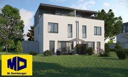 Bauobjekt Langweid Village - Doppelhäuser