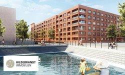 Bauobjekt WATERKANT im Zollhafen Mainz