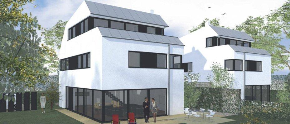 White Line Ensemble Germering - Neubau von 2 Einfamilienhäusern