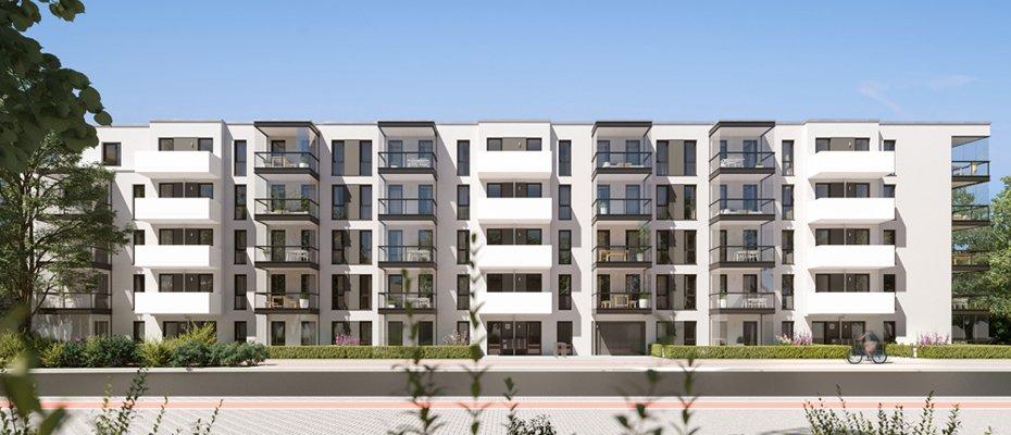 DominHo: zeitlose und schicke Architektur im urbanen Eidelstedt - Neubau von 51 Eigentumswohnungen