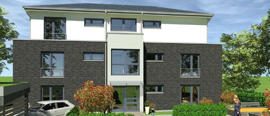 Bild zu NeuVilla - Neubau von 5 Eigentumswohnungen