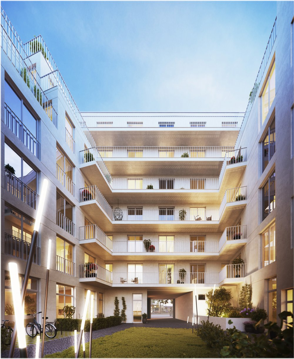 Tor Living Berlin Berlin Mitte Welthaus Living Neubau