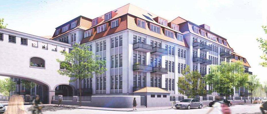 Bild zu Historische Tabakfabrik Striesen - Kernsanierung von 131 Eigentumswohnungen