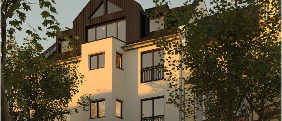 Bild zu Fürstenwall 236 - Neubau von 7 Eigentumswohnungen und 1 Stadthaus