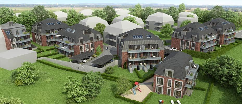 Neubauprojekt in Elmshorn: Margarethengarten - Neubau von 61 Eigentumswohnungen