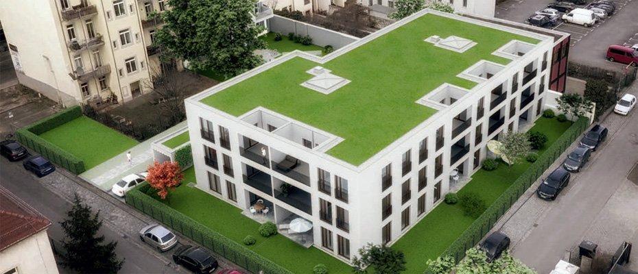Bild zu GÖ16 - Dresden-Neustadt - Neubau von 37 Eigentumswohnungen