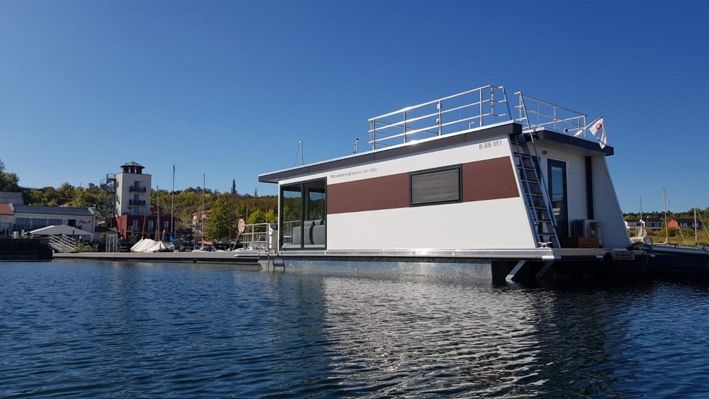Bilder Neubau Hausboot floating 33