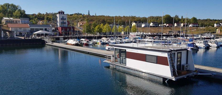 Vertriebsstart: Hausboot floating 33 in Bremen-Lesum - Neubau von 3 schwimmenden Häusern
