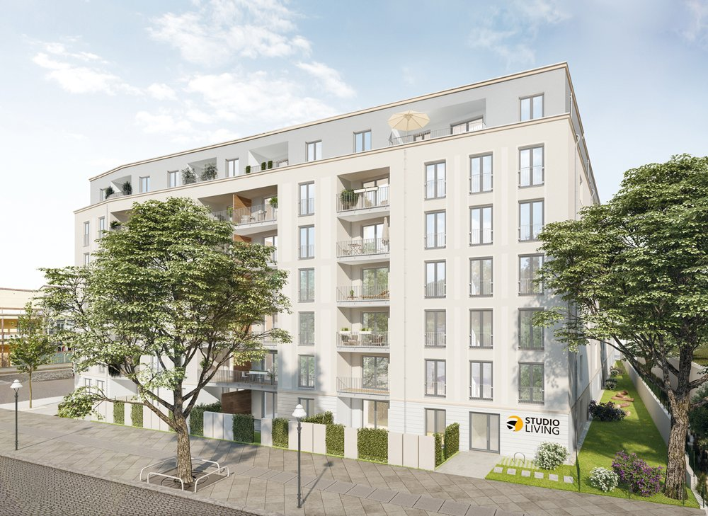 Studio Living Berlin B.1 | Neubau von 102 Apartments zur Kapitalanlage | Tegeler Straße 8, 9, | 13353 Berlin / Wedding