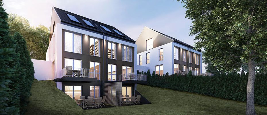 Neubau Rüttelskamp: Doppelhaushälften im grünen Essen - Neubau von 4 Doppelhaushälften