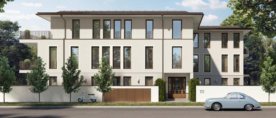 Mauerkircher Straße 155 - Neubau von 5 Eigentumswohnungen
