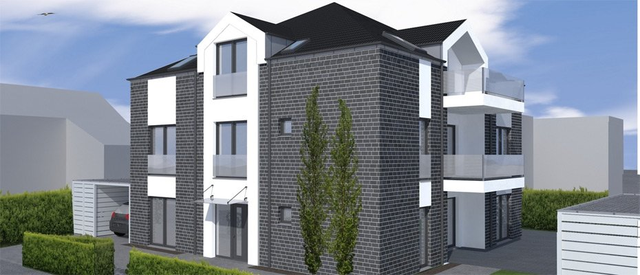 Neu in Düsseldorf: Wohnen in Mörsenbroich - Neubau von 3 Eigentumswohnungen