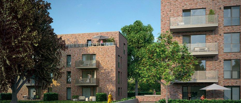 Neubauwohnungen in Hamburg-Rissen: STADT LAND FLUSS - Neubau von 39 Eigentumswohnungen