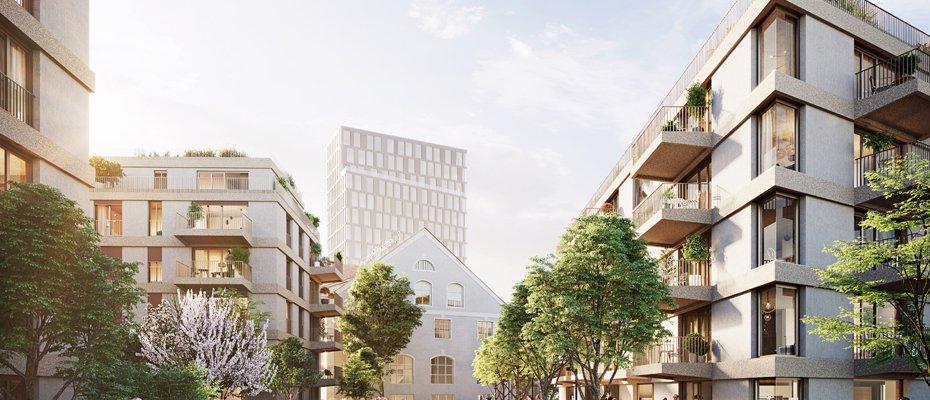 kupa - Quartier Kuvertfabrik Pasing - Neubau von 175 Eigentumswohnungen