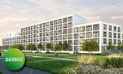 """""""PRISMA PASING"""": vielseitige Wohnungstypen mit Parkblick"""