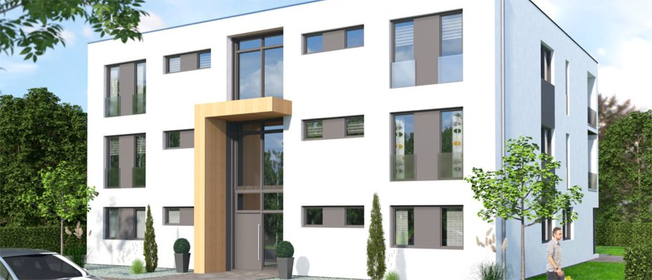 Neubauprojekt in Viersen: Parkvilla an den Höhen - Neubau von 6 Eigentumswohnungen