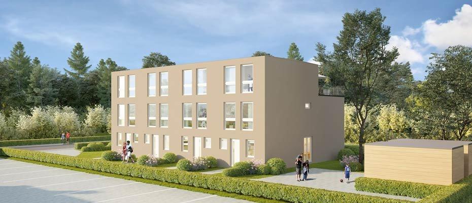 Neubauprojekt: Fangdieckstraße 96 in Lurup - Neubau von Stadthäusern