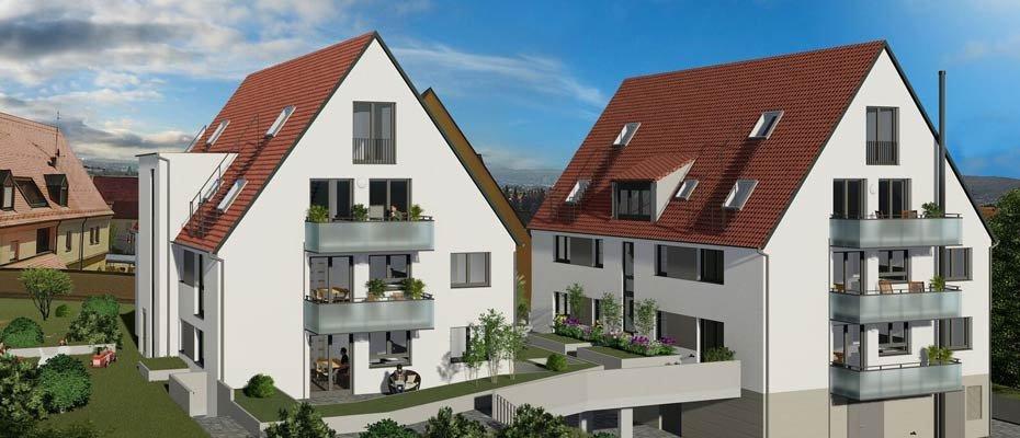 Besichtigung Samstag 25.01.2020 : Raiffeisenstraße – Heimerdingerstraße 3 - Neubau von Eigentumswohnungen