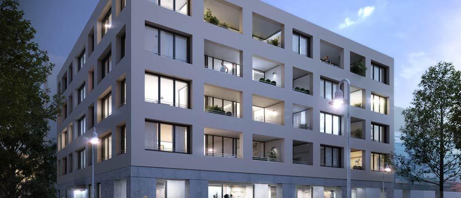 Das neue Haus No. 8 – Wendlingen: Neubau in bester Citylage - Neubau von Eigentumswohnungen