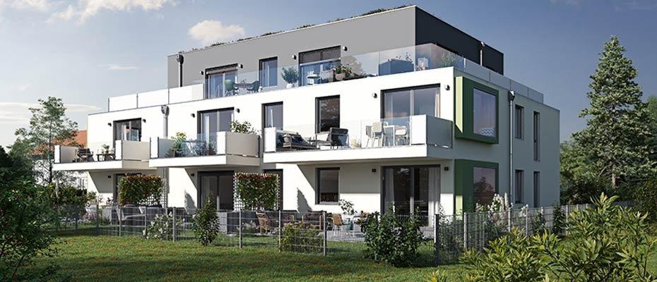 Neubauprojekt: Wohnpalais REAL URBAN - Neubau von 7 Eigentumswohnungen