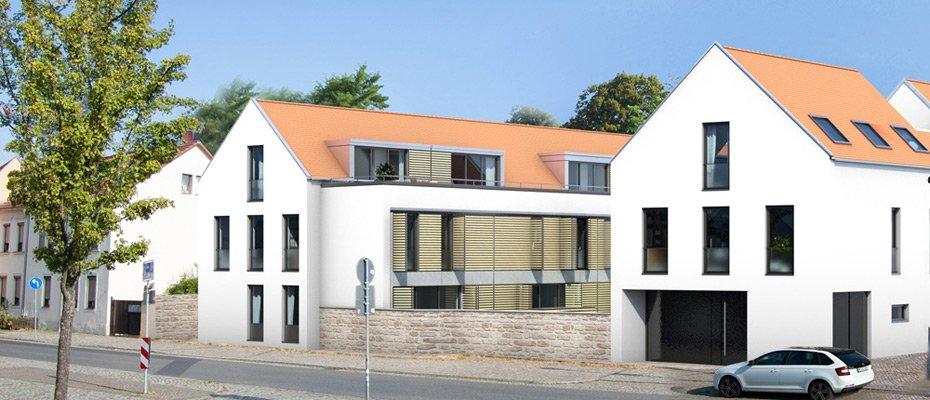 Neubau: Reihenhäuser Altkötzschenbroda - Neubau von 7 Reihenhäusern