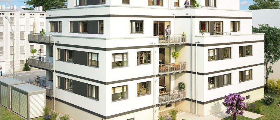 Neubauprojekt: Eigentumswohnungen in Leipzig-Gohlis - Neubau von 11 Eigentumswohnungen