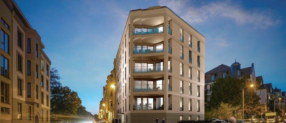 Neubau in Gohlis-Süd: Berggartenstraße 2 - Neubau von 10 Eigentumswohnungen